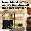 Découvrez  le  premier service de « nettoyage à sec » pour  vos chaussures