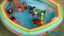 Paw Patrol Toys Bath in Bubbles Pool Disney Cars Toys Spiderman Bubbles Makers Ryan ToysReview