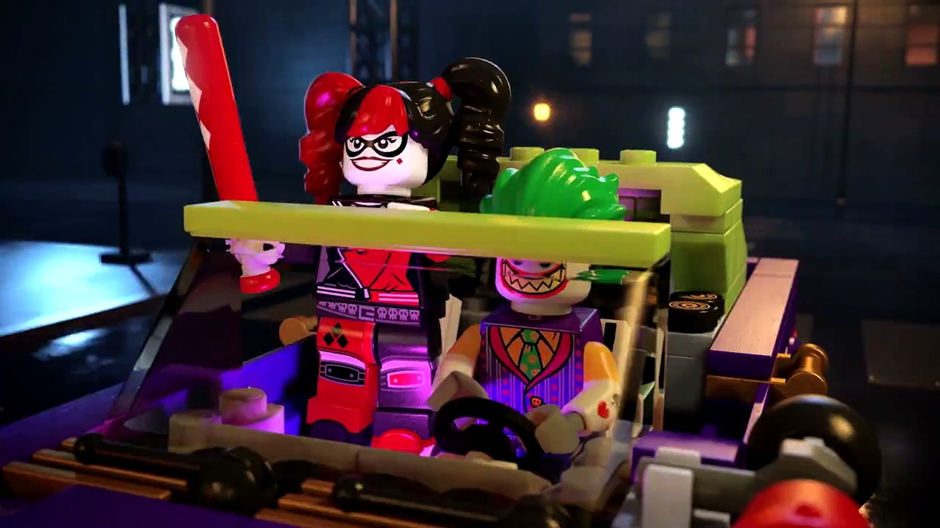 The Lego Batman Movie 70906 The Joker Notorious Lowrider Video Dailymotion