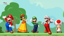 THE Super Mario Finger Family Song | Nursery Rhymes and Kids Songs | YouTube Nursery Rhymes