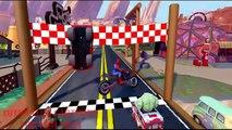 Disney #CARS HULK Spiderman Groot Wheels On #The BUS  Finger Family Kids Songs