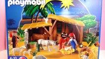 Playmobil la mangeoire avec létable - Unboxing de Playmobil 4884 jouets