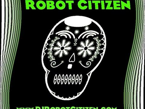 "DJ Robot Citizen (EYE) Aggrotech Electro Industrial - ""Flying Monkeys"" (Live Excerpt) Dark Electronic Dance Music Australian"