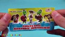 Crocodile Gena and Cheburashka Surprise Eggs Opening - Chocolate Surprise Eggs Toys