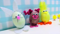 Best of Easy Easter Crafts : Cute Easter Bunny and more DIY Easter Fun by HooplaKidz How To