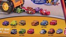 Mater eaten by Micro Drifters Colossus XXL Car Chomping Dump Truck Disney Pixar Cars 2