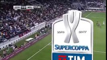 Supercopa Italia 2016: Juventus 1 - 0 Milan - gol de Chiellini - (23.12.2016)