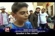 Siria: a pesar del conflicto celebraran navidad los niños refugiados