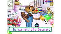 """""""Characters Song"""" (Level 1 English Lesson 02) CLIP - Teach Kids, Children Language Learn, ESL, EFL"""