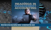 PDF [DOWNLOAD] Readings in Management Accounting (6th Edition) [DOWNLOAD] ONLINE