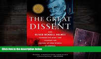 Online Thomas Healy The Great Dissent  How Oliver Wendell Holmes Changed His Mind--and Changed the