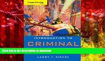 FAVORIT BOOK Cengage Advantage Book: Introduction to Criminal Justice (Cengage Advantage Books)