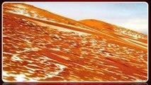 La neige dans le Sahara, une première depuis 37 ans