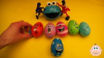 Kinder Surprise Egg Learn A Word! Spelling Play Doh Shapes! Lesson 3 Teaching Letters Opening Eggs