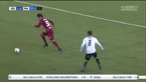 1-0 Moussa Koné Goal Italy  Serie B - 24.12.2016 AC Cesena 1-0 Trapani Calcio