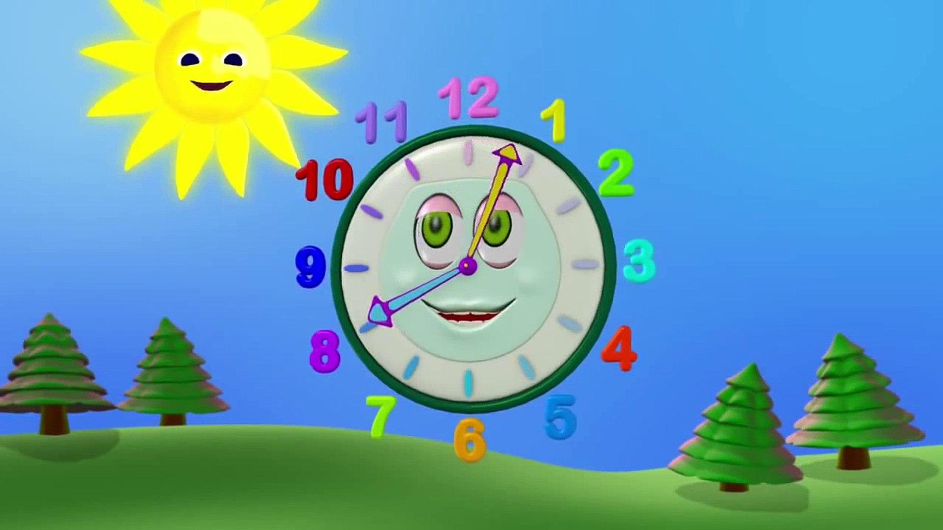 Zeemzoom - Çizgi film - Sevimli guguk saati çocuklara saati öğretiyor Çizgi Film izle - Animasyon HD