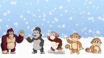 Five Little Monkeys Finger Puppets Kids Songs Finger Family By DreamWorks Kids Songs