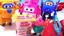 Super Wings Transformers Transforming Toys! Donnie, Dizzy, Jerome & Jett with Blind Bags!