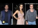 Shah Rukh Khan, Hrithik Roshan, Kangana Ranaut, Vivek Oberoi And Others At 'Krrish 3' Screening