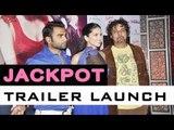 Sachiin Joshi, Sunny Leone And Kaizad Gustad At 'Jackpot' Trailer Launch