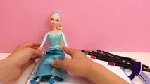 Dessin de la reine des neiges Elsa – Livre de coloriage Top model la reine des neiges Elsa