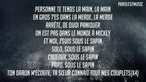Black M Cadeau Joyeux Noël Paroles (lyrics)