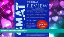 Download [PDF]  The Official Guide for GMAT Verbal Review, 2nd Edition GMAC (Graduate Management