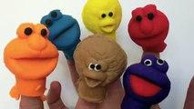 Play Doh Cookie Monster Elmo Ernie Playdough Sesame Street Playdoh Playset