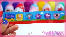 Kinder Surprise Eggs Angry Birds Play Doh Peppa Pig Disney Collector, Tom and Jerry Surprise Eggs