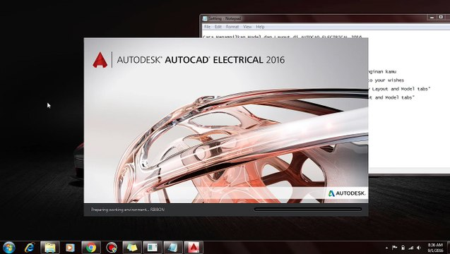 How to Display Model and Layout in AUTOCAD ELECTRICAL 2016