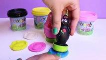 Barbapapa Pots Pâte à modeler Molds and Shapes Play Doh Dough Set Barbapapá Barbapapa Family