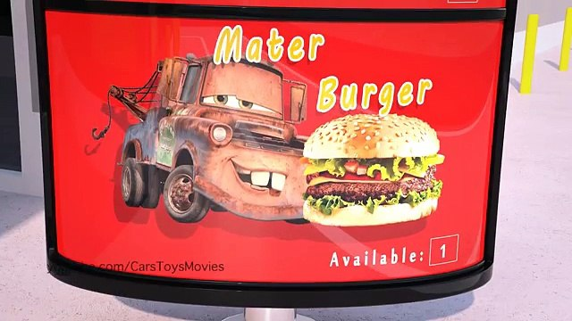 Mater Misbehaves at McDonalds ! Disney Pixar CARS TOYS MOVIES Happy Meal BURGER | Day: 1&2