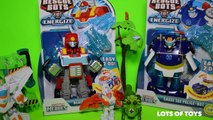 Transformers Rescue Bots Heatwave the Fire Bot Energize Fire Truck to Robot Toy Review
