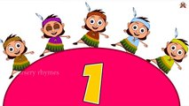 Ten Little Indians Nursery Rhyme | Popular Number Nursery Rhymes For Children by Nursery Rhymes