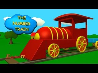 The Number Train | Numbers Song for Children - 1 to 10 Number Train