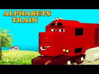 ABC train | Alphabet Train| Learn Alphabets with Sam