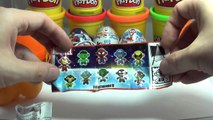 6 Surprise Eggs Kinder Surprise Marvel unboxing - Киндер Сюрприз Марвел [Kinder Surprise Marvel]