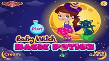 Baby Witch Magic Potion - Preparing a Magic Potion Game