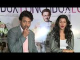 Irrfan Khan And Nimrat Kaur talks About their upcoming film 'The Lunchbox'