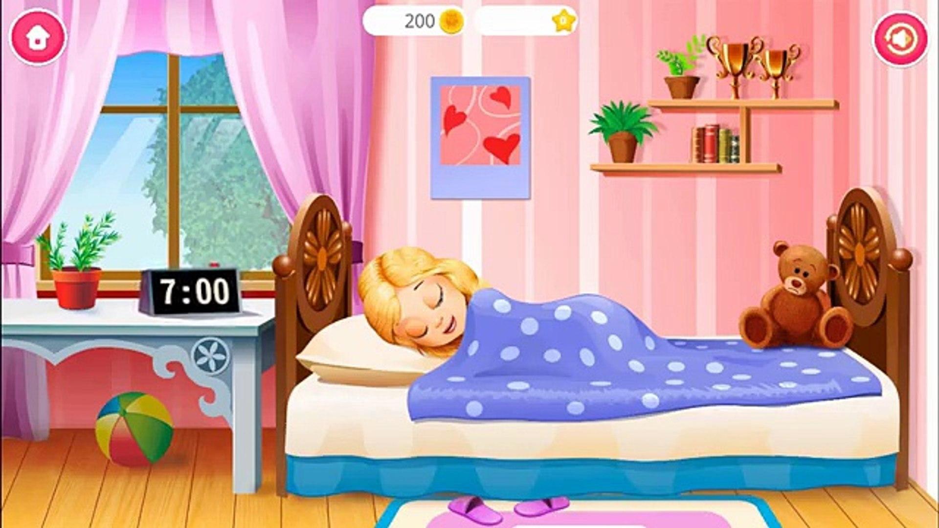 Play & Learn Kids Daily Routine - Bath Brush Teeth & Dress Up with Pretty Alice Daily Fun Ki