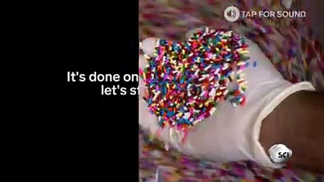 How rainbow sprinkles are madeThis is how rainbow sprinkles are made
