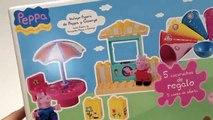 Peppa Pig Ice Cream Building Toys La Heladería de Peppa Pig Mega Bloks Megabloks Lego Duplo Toys