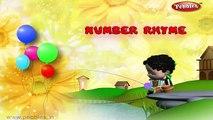Number Rhyme | Nursery Rhymes With Lyrics | Nursery Poems | 3D Nursery Rhymes For Children