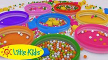 Learn Shapes for Children Baby Toddlers Kindergarten Kids 3D Colors Ball Pit Show