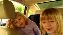 3 year old and 4 year old singing