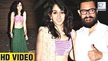 Aamir With Daughter Ira Khan ATTEND Imran's Party | Full Video | LehrenTV