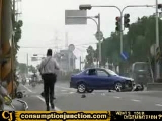 Accident scooter