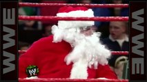 ne Cold' drops Santa Claus with a Stunner - Raw, Dec.