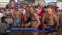 Charente-Maritime : le traditionnel bain de Noël à Chatelaillon-Plage