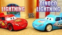 Disney Cars Lightning McQueen vs Dinoco Lightning Playing the Fast as Lightning Game iPad App
